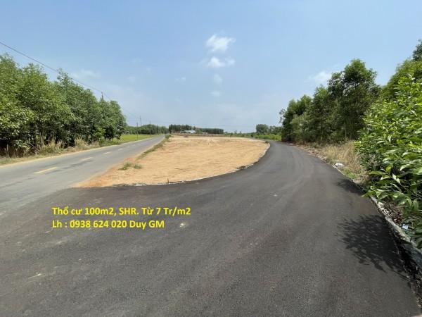 Hỗ trợ vay 50% sở hữu đất nền thổ cư QL 55 ngay TT Đất Đỏ từ 7 triệu/m2
