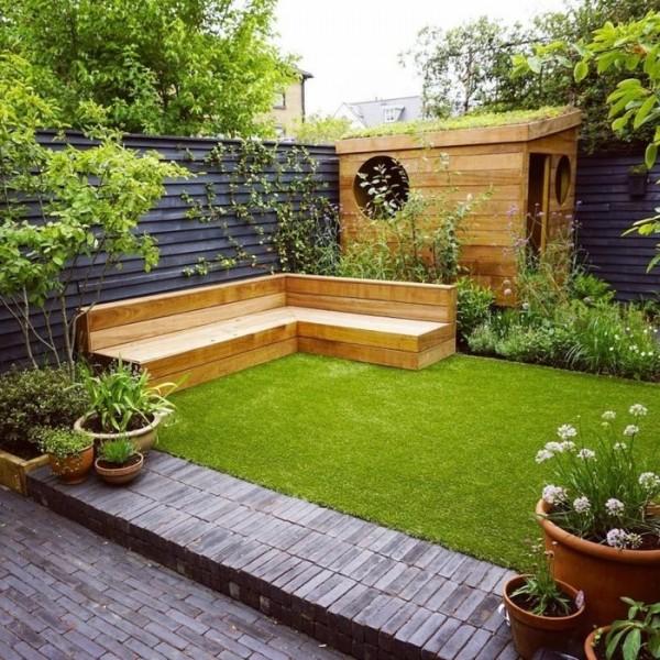 Hoàn thành lối đi trong vườn với ý tưởng độc lạ