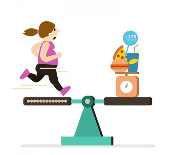 Học cách cân bằng calories cho cơ thể