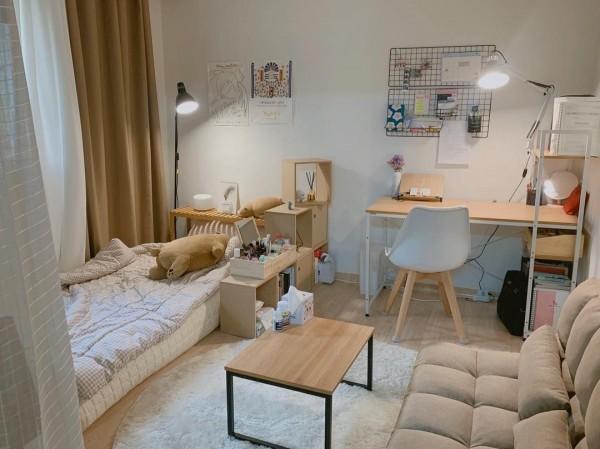 Học cách decor lại căn phòng nhỏ hẹp