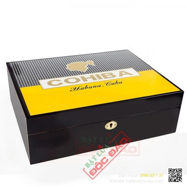 Hộp bảo quản xì gà, tủ bảo quản xì gà Cohiba H525-75