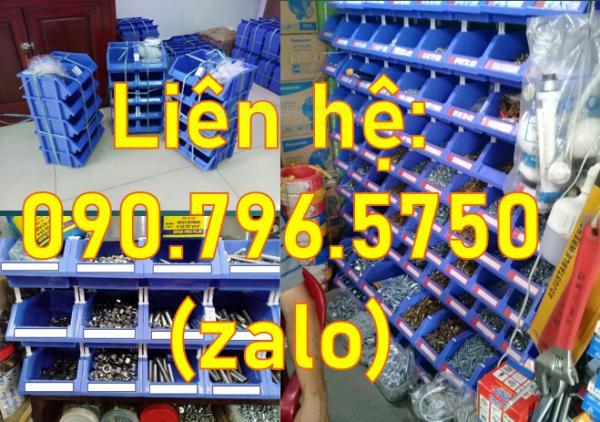 Hộp đựng linh kiện cơ khí, công dụng của khay nhựa đựng ốc vít, khay đựng phụ tùng giá rẻ TPHCM