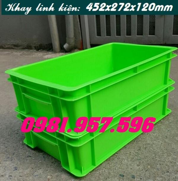 Hộp nhựa B2, thùng nhựa công nghiệp