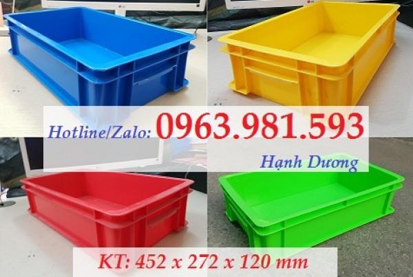 Hộp nhựa B2, thùng nhựa đặc có nắp