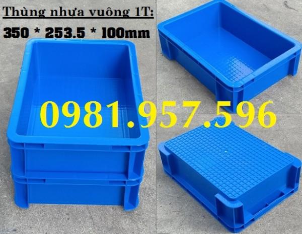 Hộp nhựa công nghiệp B12, sóng nhựa bít B12, thùng nhựa đặc 1T