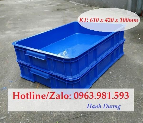 Hộp nhựa HS025, khay nhựa, sóng nhựa bít