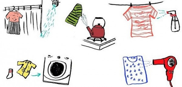 Hướng dẫn bạn những cách làm phẳng quần áo không cần bàn ủi