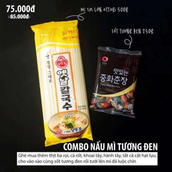 Hướng dẫn làm mì tương đen chuẩn vị Hàn