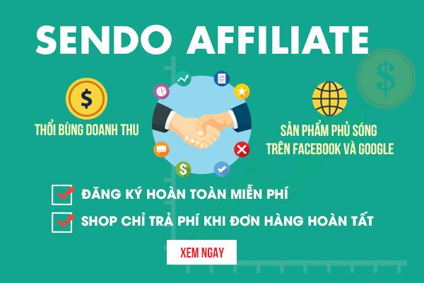 Hướng dẫn tiếp thị liên kết cho Sendo