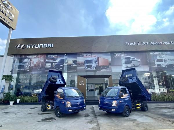 Hyundai Porter H150 2021 Thùng Ben 1. khối Xe thùng có sẵn giao ngay 0908981927
