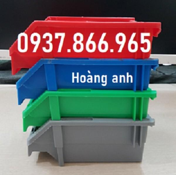 Kệ nhựa vát 1 đầu có rãnh gài, kệ dụng cụ, khay nhựa dùng trong nhà xưởng cơ khí