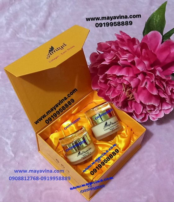 Kem Amiya 12 Trong 1 Tinh Chất Collagen và Nhau Thai Cừu-1150K