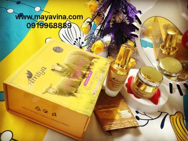 Kem Amiya 12 Trong 1 Tinh Chất Collagen và Nhau Thai Cừu