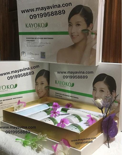 KEM BỘ KAYOKO NHẬT BẢN 6 IN 1 Made in JAPAN