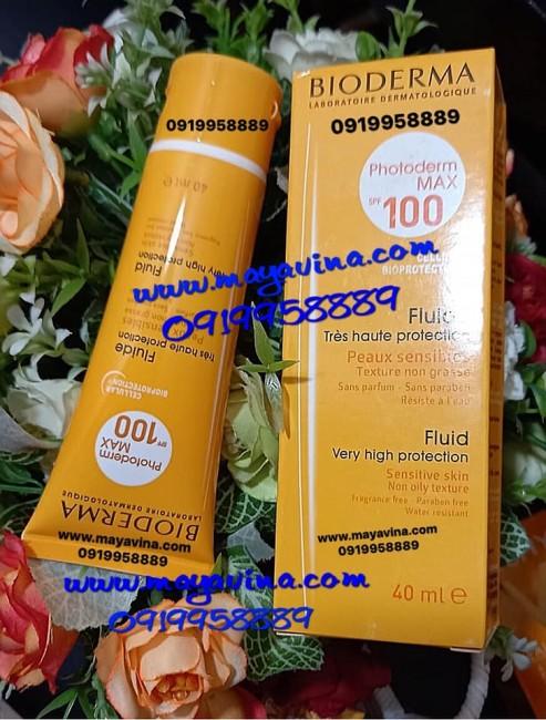 Kem chống nắng  Bioderma Photoderm Max SPF 100