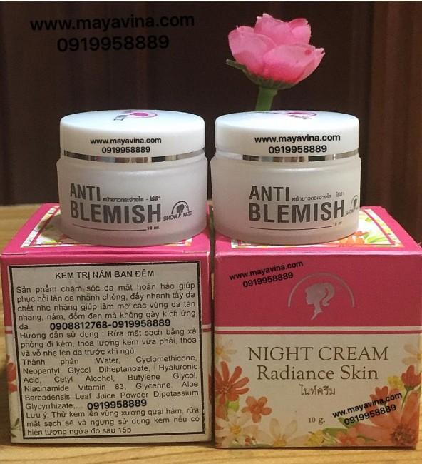Kem dưỡng dành riêng cho ban đêm Night cream Radiance Skin