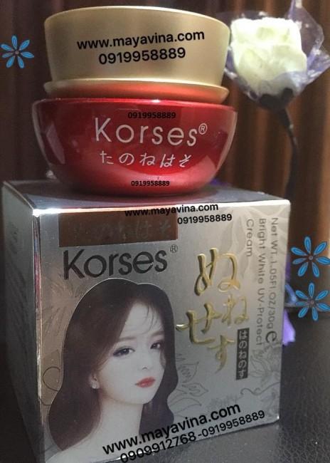 Kem Korses mẫu mới Trị Nám Tàn Nhang Đồi Mồi 10 Tác Dụng