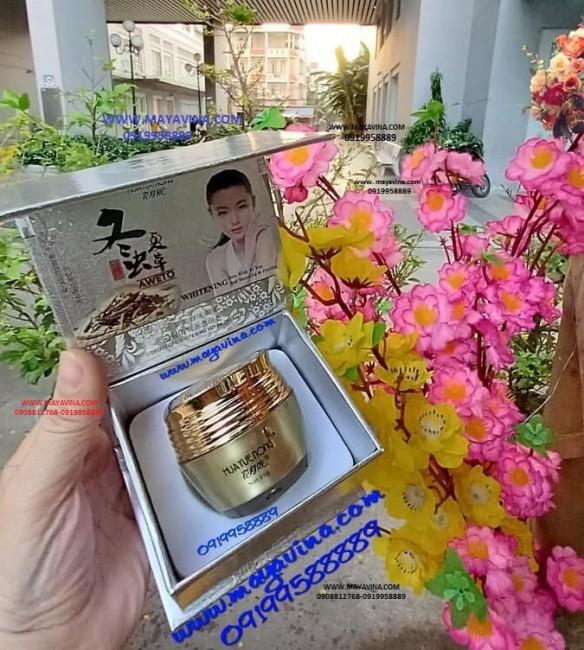 Kem trị nám da HuaYueNong  (aweto) đông trùng hạ thảo loại bỏ đốm nâu tàn nhang