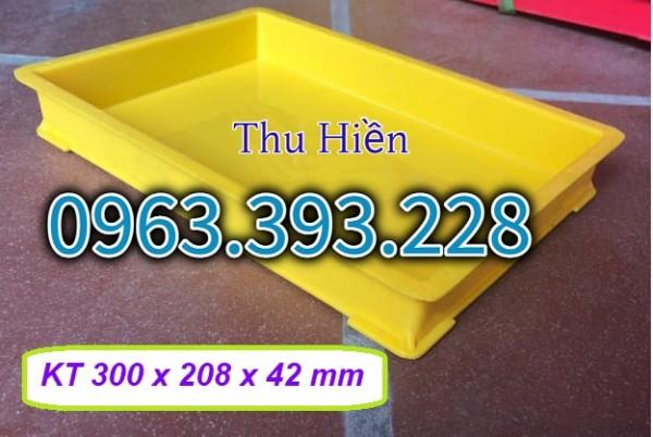 Khay đựng link kiện điện tử, Khay nhựa BL 006, khay nhựa đặc giá rẻ