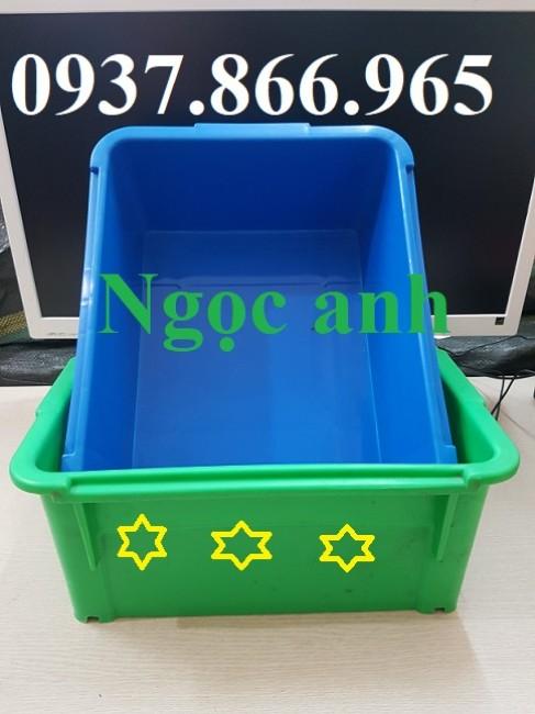 Khay nhựa A3, hộp nhựa, thùng nhựa công nghiệp, thùng nhựa cơ khí