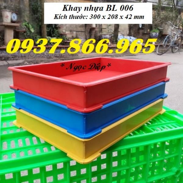 Khay nhựa BL006, khay nhựa nhỏ, khay nhựa đựng linh kiện, khay nhựa đựng bản mạch