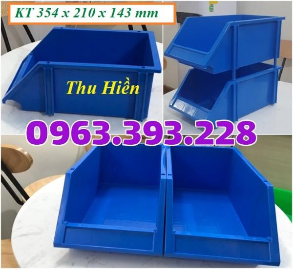 Khay nhựa đựng link kiện, Khay dụng cụ xếp chồng, Khay nhựa giá rẻ, khay link kiện A8 đựng ốc vít