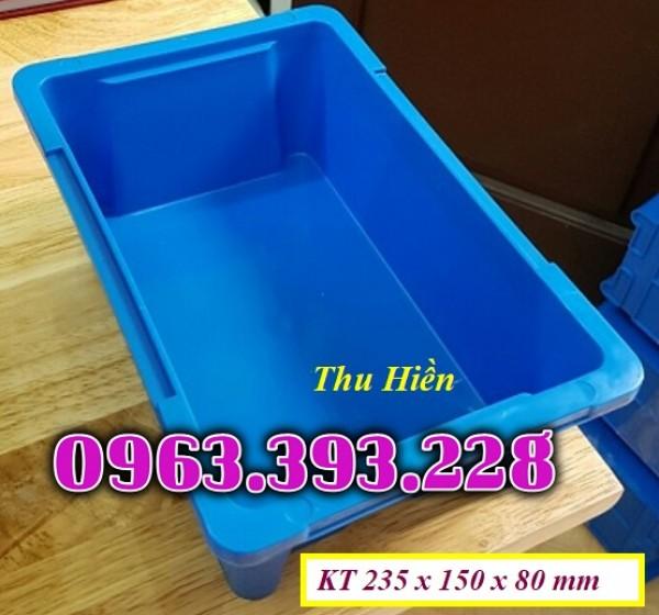 Khay nhựa giá rẻ, thùng nhựa công nghiệp, khay nhựa đặc A4, khay nhựa đựng đồ