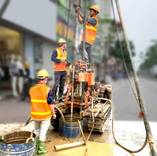 Khoan khảo sát địa chất Hà Nội