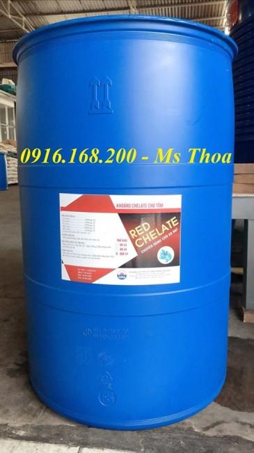 KHOÁNG RED CHELATE - Khoáng phức hợp chuyên dùng cho ao bạt