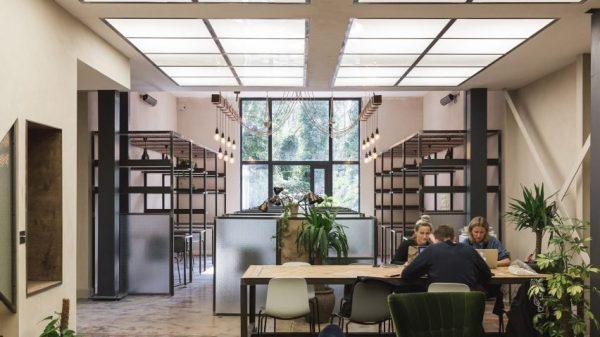 Không gian nội thất thoải mái dành cho phòng làm việc