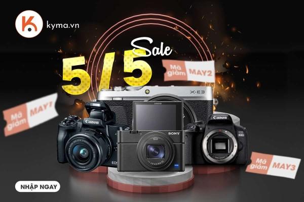 Khuyến mãi tháng 5 Máy ảnh Canon 800D Body tại Kyma