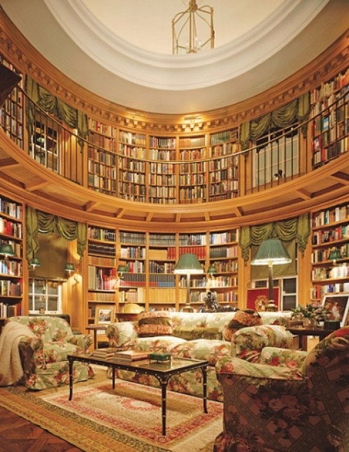 Kiến tạo không gian thư viện tại gia