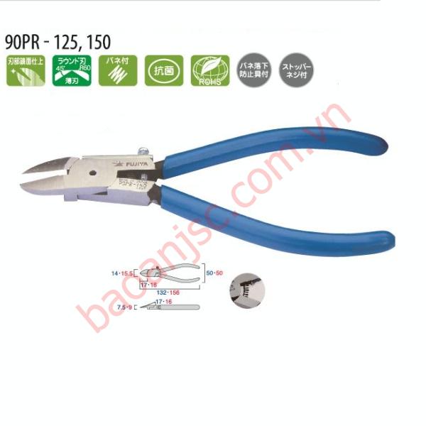Kìm cắt nhựa lưỡi tròn Fujiya 90PR-150