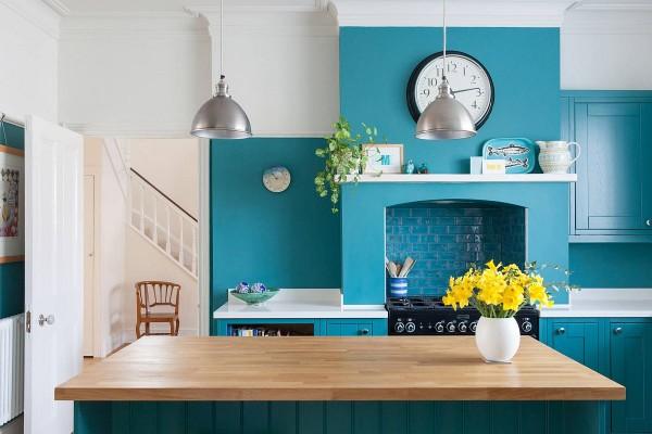 Làm mới phòng bếp với màu sắc tươi mới và sắc nét