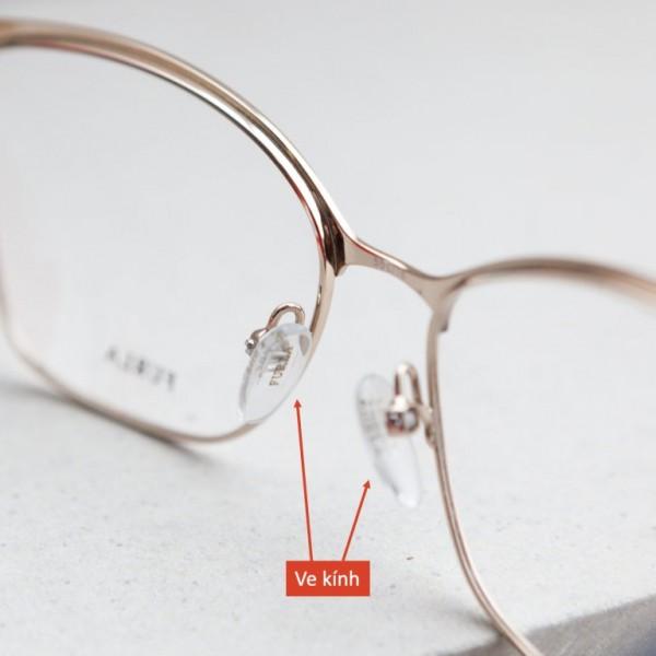 Làm sạch miếng đệm trên mắt kính tại nhà