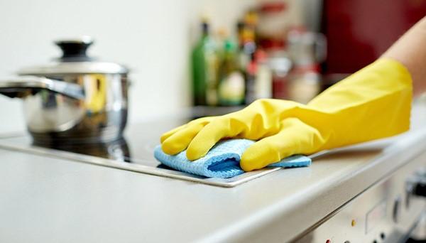 Làm sạch toàn bộ nhà bếp chỉ trong thời gian 20 phút