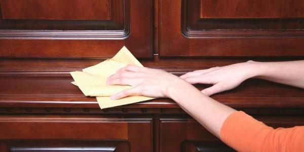 Làm sao để tủ gỗ của bạn luôn sáng bóng như mới?