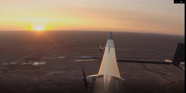 Lần đầu tiên một chiếc máy bay chạy năng lượng mặt trời