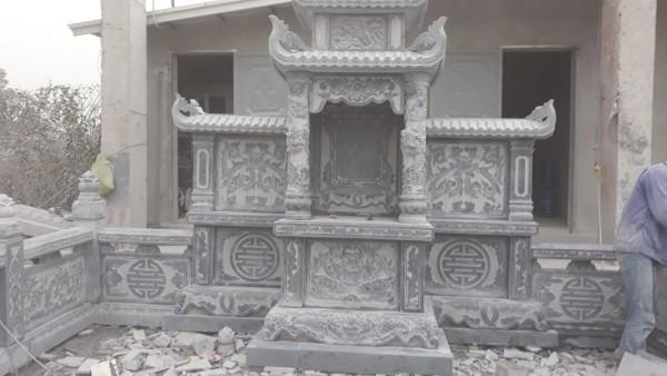 Lăng mộ đẹp tinh tế, phong thủy