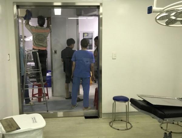 Lắp đặt 15 bộ cửa tự động BỆNH VIỆN KANGNAM tại Tp. Hồ Chí Minh