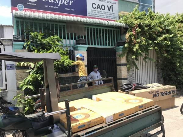 Lắp đặt máy lạnh giá rẻ tại Bình Tân - Cao Vĩ
