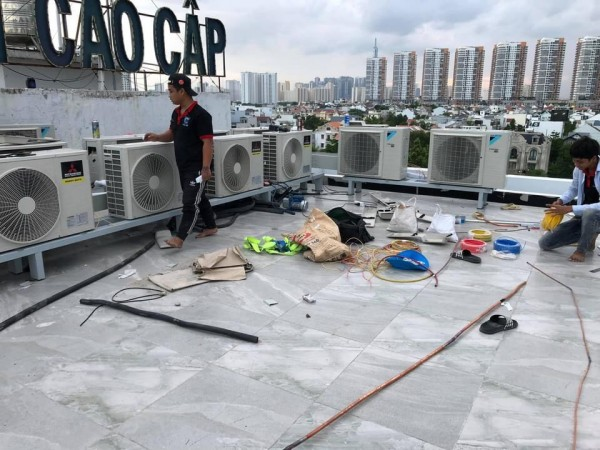 Lắp đặt máy lạnh giá rẻ tại huyện Bình Chánh