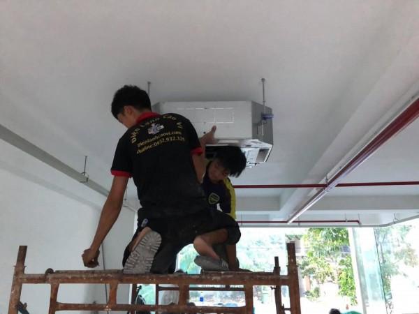 Lắp đặt máy lạnh giá rẻ tại quận 4 - 0932.932.329