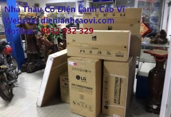 Lắp đặt máy lạnh tại Gò Vấp Tp.HCM - Cao Vĩ