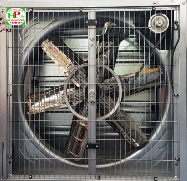 Lắp đặt quạt thông gió công nghiệp