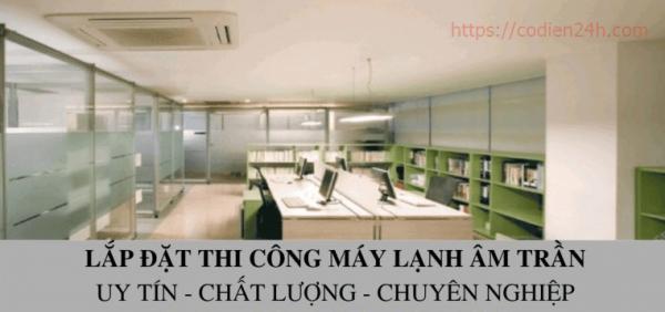 Lắp điều hòa âm trần tại Hà Nội giá rẻ - 0898570998