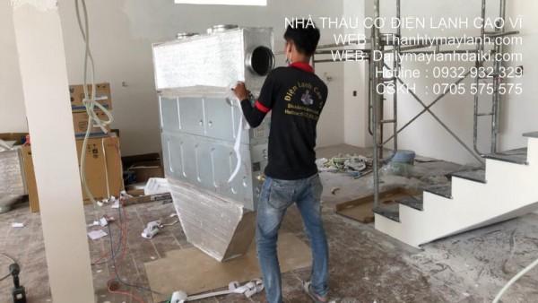 Lắp điều hòa tại nhà ở Phú Nhuận - 0932.932.329