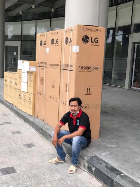 Lắp máy lạnh giá rẻ ở Hốc Môn - Cao Vĩ