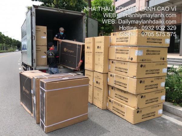 Lắp máy lạnh quận Bình Thạnh - Cao Vĩ