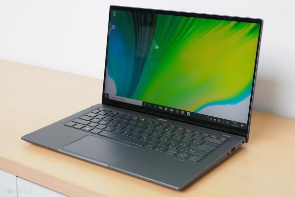 Laptop Acer Swift 5 Evo mỏng nhẹ cùng công nghệ kháng khuẩn